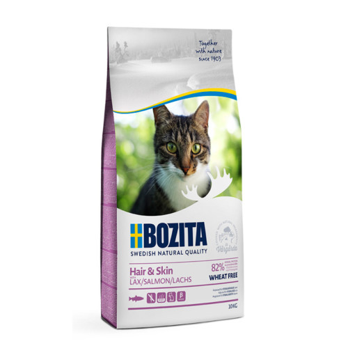 Bozita Hair & Skin Wheat Free Salmon 10 kg