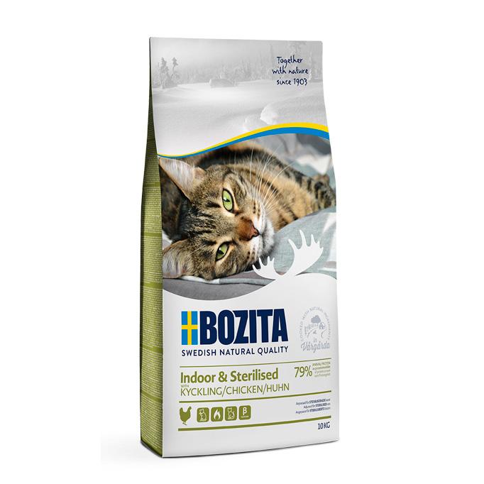 Bozita Indoor & Sterilised Chicken 10 kg