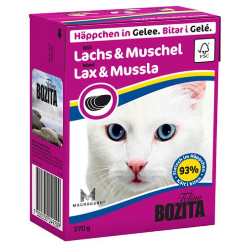 Bozita Lax & Mussla i gele 370g