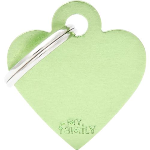 MyFa Basic Hjärta S grön
