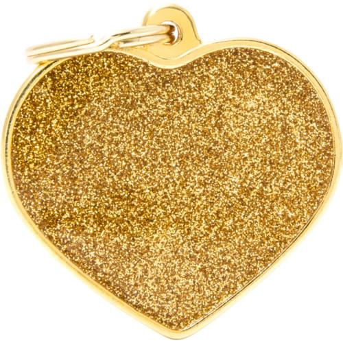 MyFa Shine Hjärta L guld