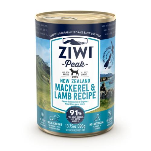 *ZIWIPEAK* Dog Mackerel & Lamb 390g